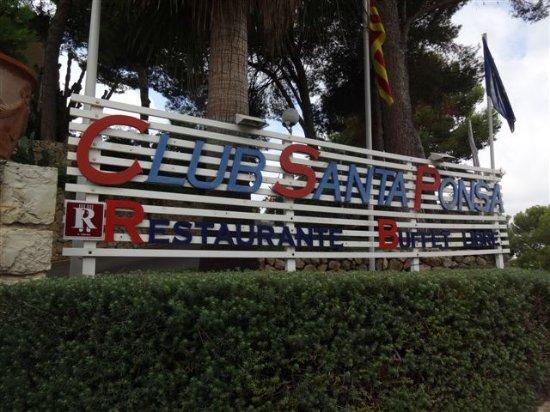 Club Santa Ponsa: ENTREE