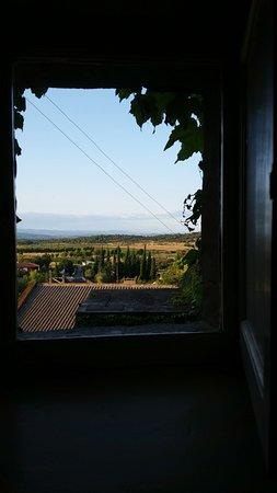 Boutenac, Frankrike: Blick aus dem Vorraum Obergeschoss nach hinten.