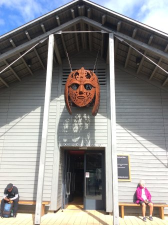 Sutton Hoo: Entrance to museum