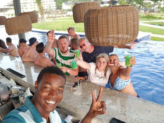 Cap Estate, Σάντα Λουσία: Swim-up Bar at Hideaway Adults only