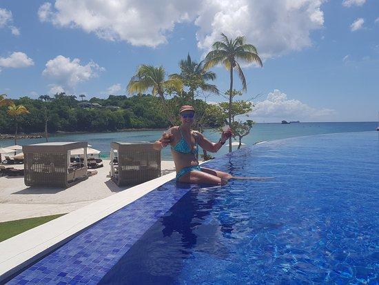 Hideaway At Royalton Saint Lucia Infinity Pool