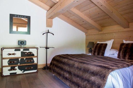 Relais & Chateaux Flocons de Sel: Chambre Suite Leutaz