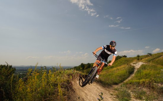 Lancing, UK: The South Downs is littered with hidden natural singletrack