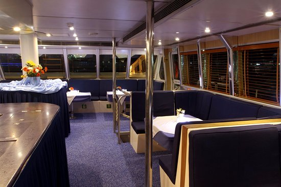 El Mundo Dubai Dinning Area Picture Of J P S Passenger Yachts And