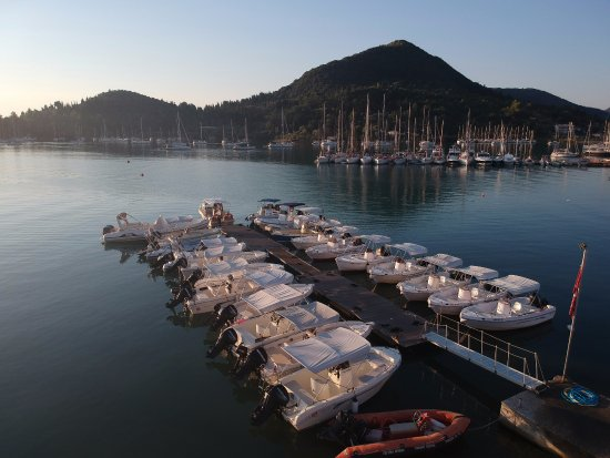 Nidri, Greece: more boats