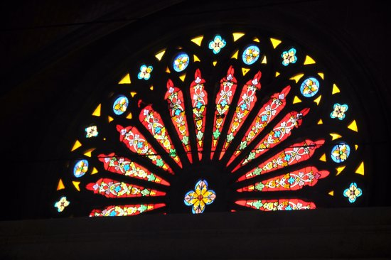 Sacred Heart Cathedral: Window
