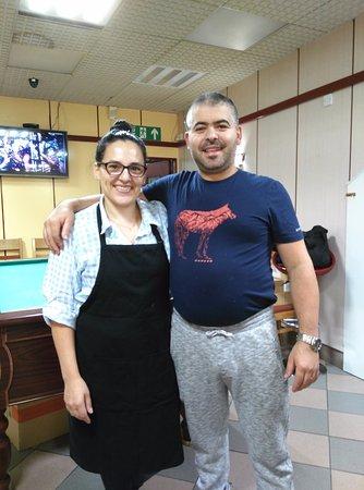 Didcot, UK: The Camaras-wonderful owners