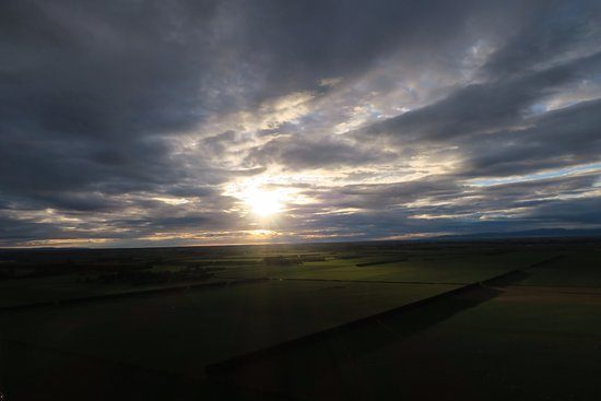 Darfield, Yeni Zelanda: Beautiful sunrise