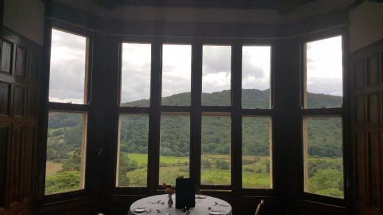 Maentwrog, UK: View dining room