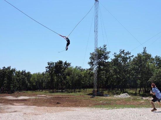 Barban, Croácia: catapult