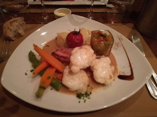 Le baba picture of restaurant le ker louis perros guirec tripadvisor - Dining kers ...