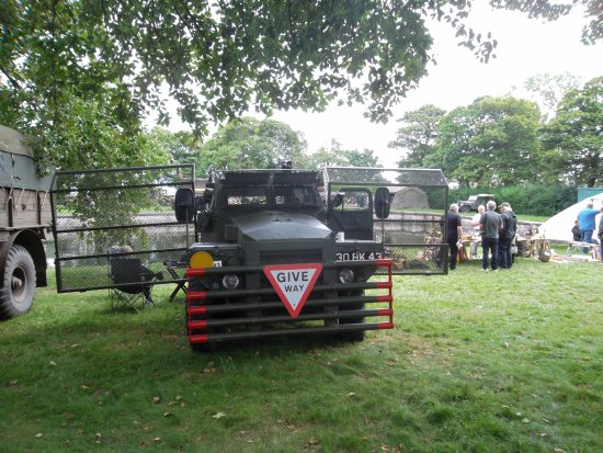 Ryhope Engines Museum: war weekend vehicle