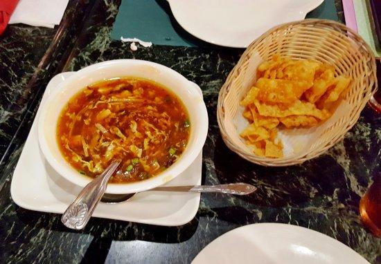 Avondale, AZ: Hot & Sour Soup, very large bowl....