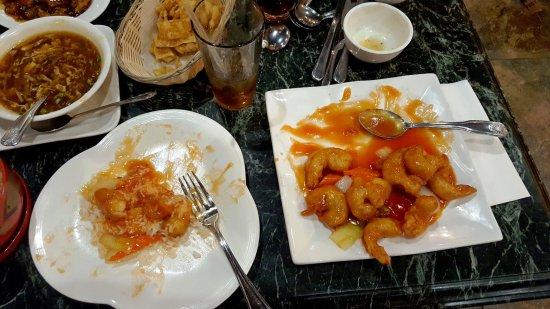 Avondale, AZ: Sweet & Sour Shrimp with rice....