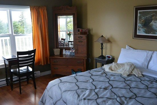 Guysborough, Canada: our room