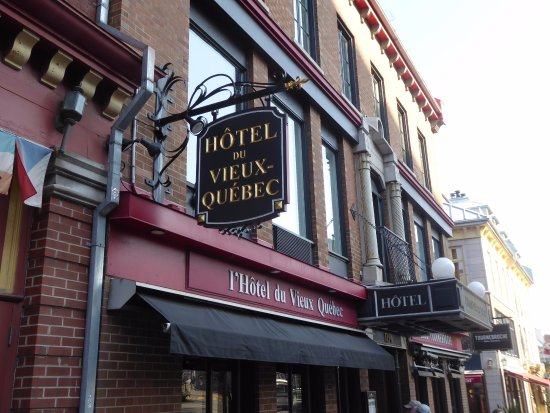 Hotel du Vieux-Quebec Aufnahme