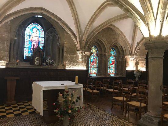 Langonnet, France: Salle capitulaire (derniers vestiges du XIIIème siècle)