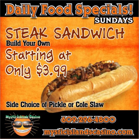Tuckerton, NJ: Sunday Special! (Dine-in only)