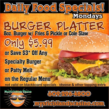 Tuckerton, Nueva Jersey: Monday Special! (Dine-in only)