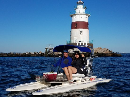 Mystic Boat Adventures: On the ocean in between NY, Rhode Island and Connecticut.