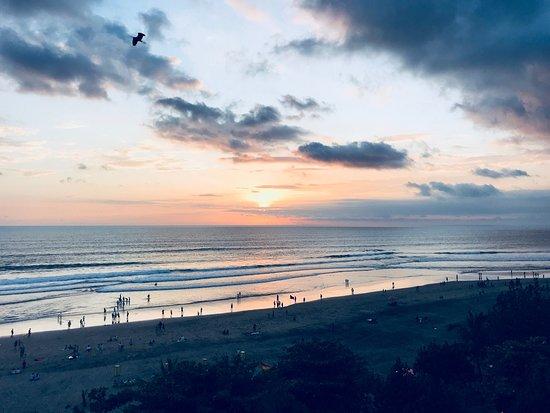Perfekte Location zum Sonnenuntergang