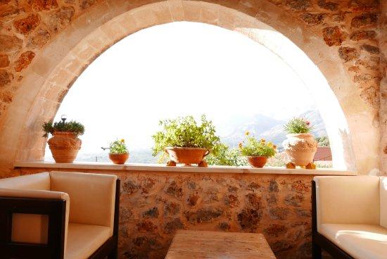 Samonas, Grækenland: Balcony view