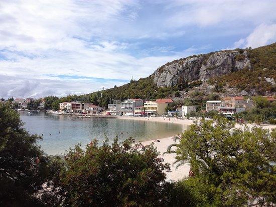 Klek, Κροατία: Бухта посёлка Клек.