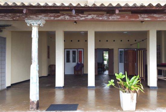 Pitiwella, Sri Lanka: Yoga floor