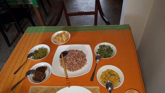 Pitiwella, Sri Lanka: Ayurvedic Lunch