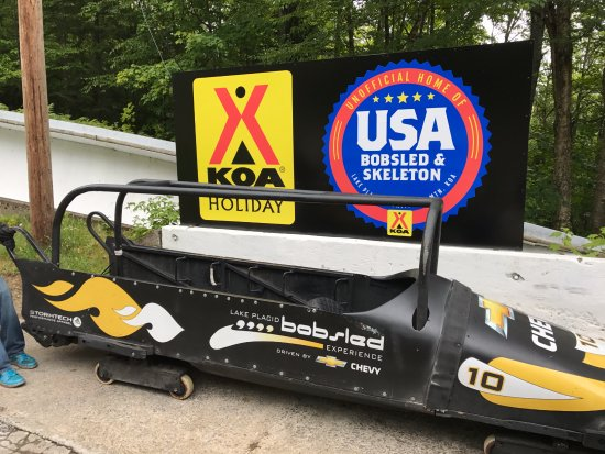 Bobsled and Luge Complex: The Bobsled