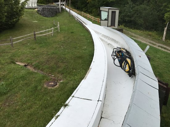 Bobsled and Luge Complex: Last Turn to the finish line