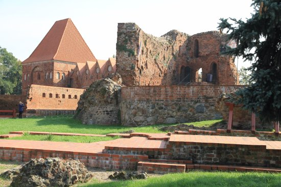 Torun, Polen: Ruins of the Teutonic Castle