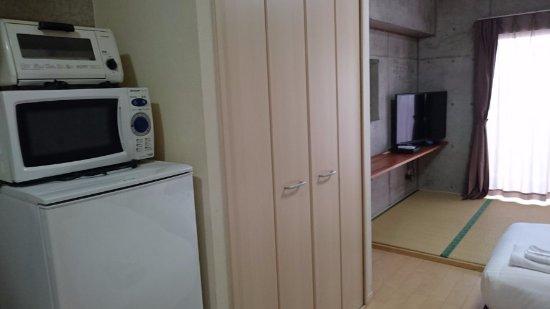 リゾート イン ラッソ 石垣, 冷蔵庫・レンジ・オーブントースター・クローゼット