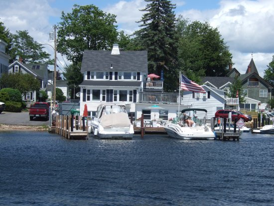 Wolfeboro, NH: Yacht Club & docks