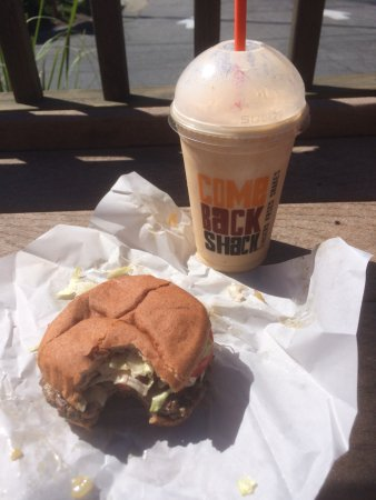 Come Back Shack: Flavor Explosion of Goodness!