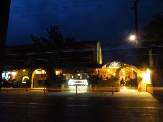 Victoria Complex Restaurant : The restaurant taken from bus stop 19