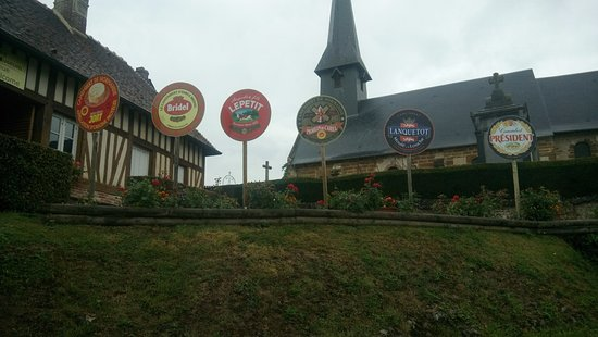 Vimoutiers, France: In Camembert, where many famous brands of the cheese are made