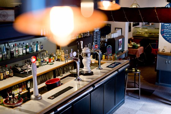 Gilbies Bar & Bistro: Continental beers on draught