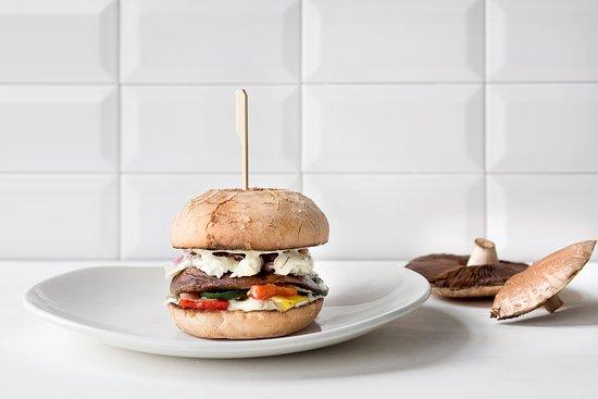 Veggie Portobello - Picture of Ellis Gourmet Burger - Mechelen ...