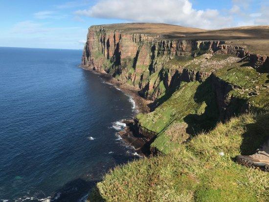 Hoy, UK: Cliffs near the Old Man