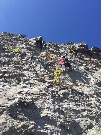 Circleville, เวสต์เวอร์จิเนีย: Climbing the Head Wall