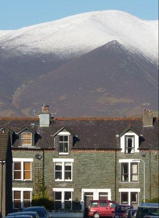 Oakthwaite House: Skiddaw in the Background