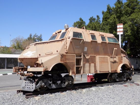 armoured vehicle turned into armoured train picture of trans namib