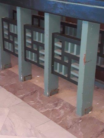 Hotel Volubilis: couloir vers l'ascenseur