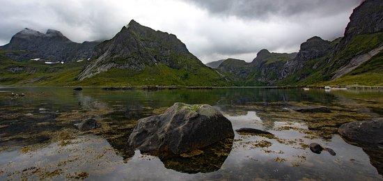 Reine, Norwegia: Vinstad landscape