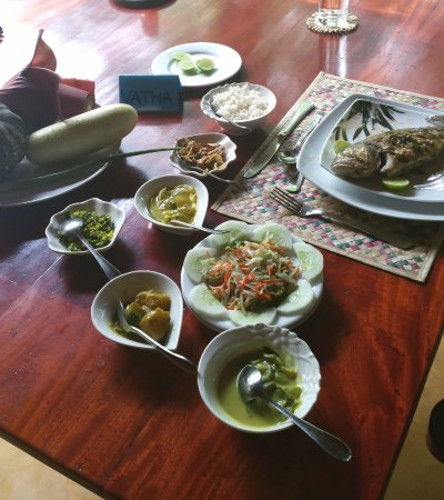 Kahandamodara, Sri Lanka: super leckeres, frisches, gesundes Essen