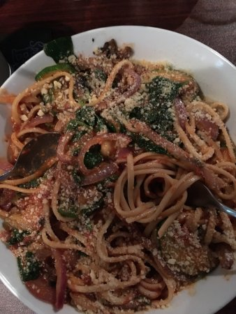 Apollo Beach, FL: Veggie Pasta Linguine