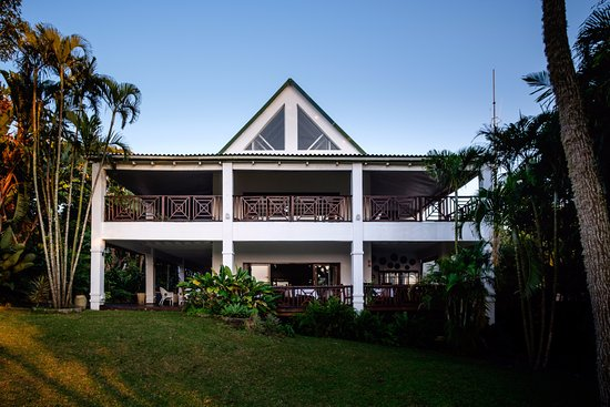 St Lucia Ecolodge and Conference Centre: A restaurant and executive lounge