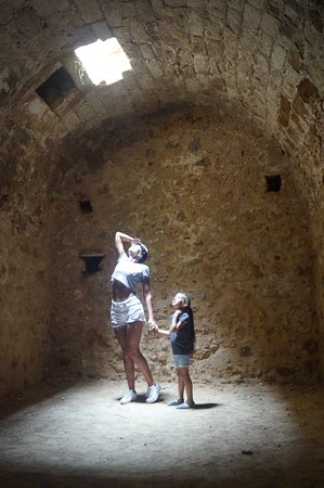 Rethymnon, Greece: Подвалы крепости