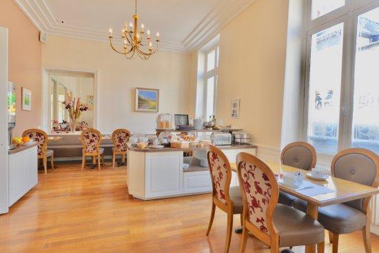 Best Western Hotel D'Angleterre: Salle Petit-déjeuner